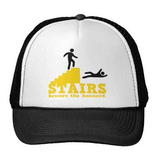 Stairs Beware the Hazzard! Trucker Hat