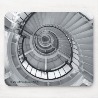 Stairs Of Illusion Mouse Pad