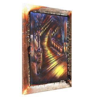 Stairway of Light Canvas Print
