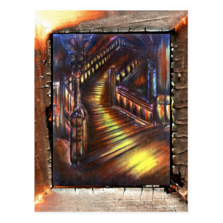 Stairway of Light Postcard