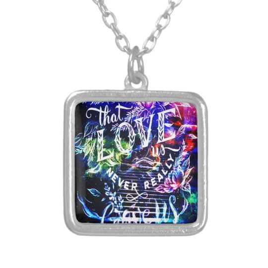 Stairway the Ones that Love Us Silver Plated Necklace