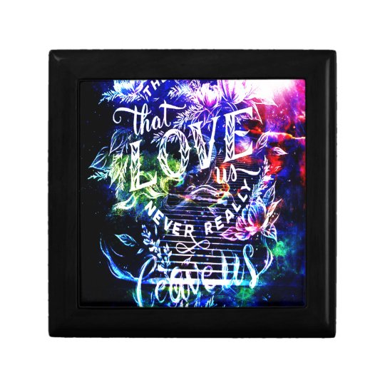 Stairway the Ones that Love Us Small Square Gift Box