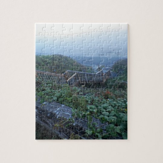 Stairway to the Ocean Jigsaw Puzzle