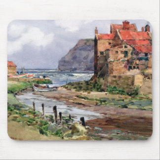Staithes, c.1897-1918 mouse pad