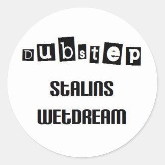 stalin created dubstep sticker