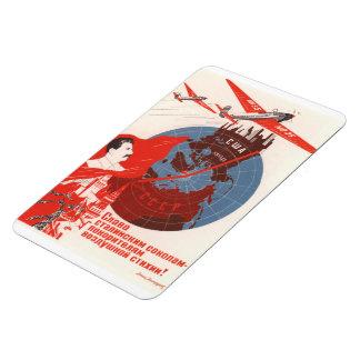 Stalin Soviet Poster Magnet