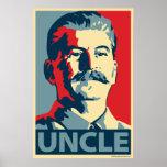 Stalin - Uncle Joe: Obama parody poster