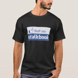 STALKBOOK 001a (front only) T-Shirt