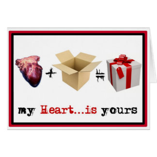 Stalker Cards - Heart in a box
