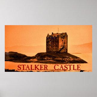 stalker castle print