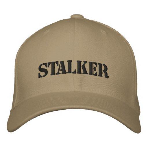 STALKER EMBROIDERED BASEBALL CAPS