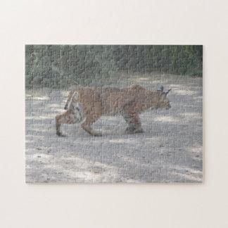 Stalking Bobcat Jigsaw Puzzle