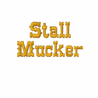 Stall Mucking Fleece Embroidered Hoody