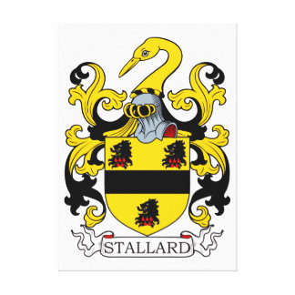 Stallard Coat of Arms Stretched Canvas Prints