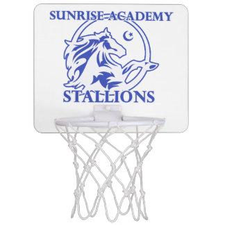 Stallion Logo Basketball Hoop