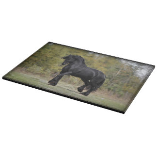 Stallion Strut Cutting Board
