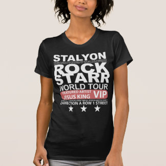 STALYON ROCK STARR JESUS VIP TSHIRTS