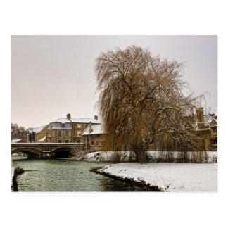 Stamford in Winter Postcard