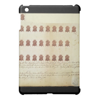 Stamp Act 1765 One Penny Stamp Proof Sheet Case For The iPad Mini