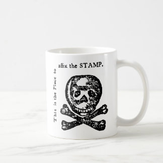 Stamp Act Satire Coffee Mugs