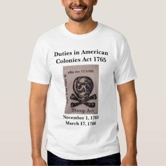 Stamp Act T Shirt