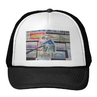 Stamp Collecting Trucker Hat