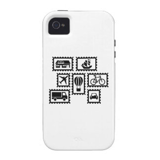 Stamp collection iPhone 4 case