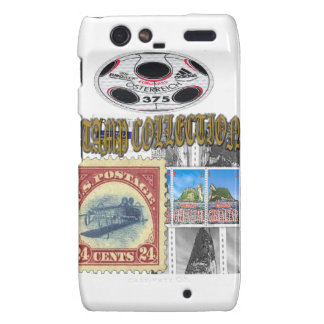 Stamp Collection Gold Motorola Droid RAZR Cover