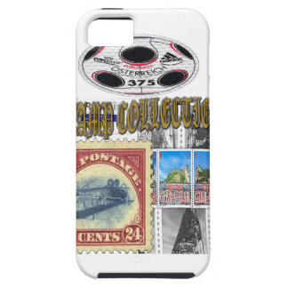 Stamp Collection Gold iPhone 5 Case
