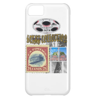 Stamp Collection Gold iPhone 5C Case