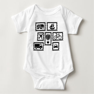 Stamp collection t shirt