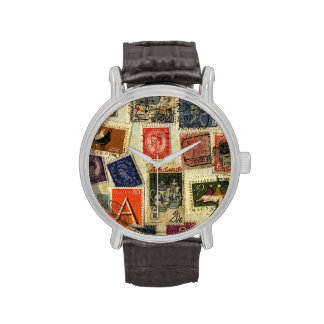 Stamp Collection Watch