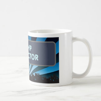 Stamp Collector Marquee Coffee Mug