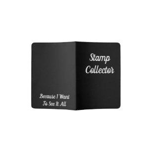Stamp Collector Passport Holder