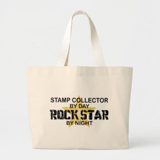 Stamp Collector Rock Star by Night Tote Bag