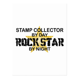 Stamp Collector Rock Star by Night Post Cards