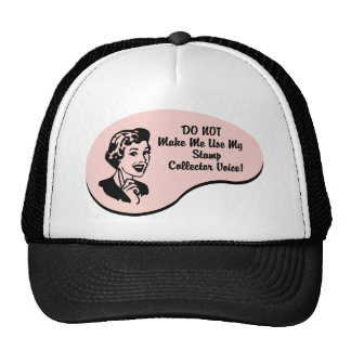 Stamp Collector Voice Mesh Hats