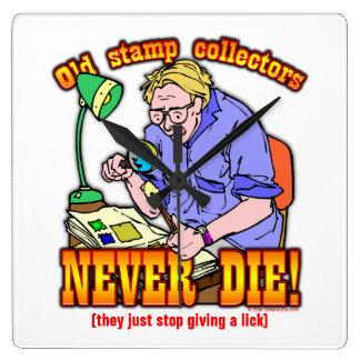 Stamp Collectors Wallclocks