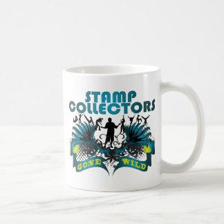 Stamp Collectors Gone Wild Coffee Mug