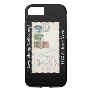 Stamp Collectors iPhone Case 1932 Air Event Cover