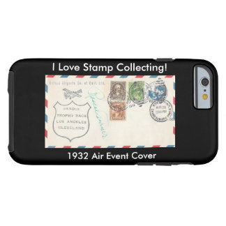 Stamp Collectors iPhone Case 1932 Air Event Cover Tough iPhone 6 Case