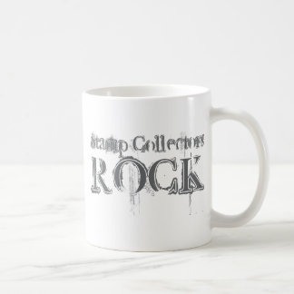 Stamp Collectors Rock Coffee Mug