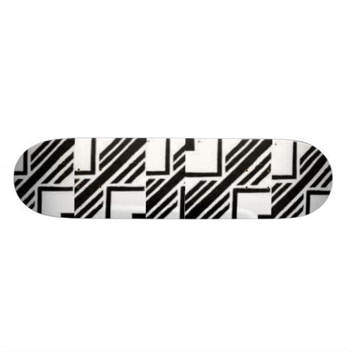 Stamp  Design Skateboard