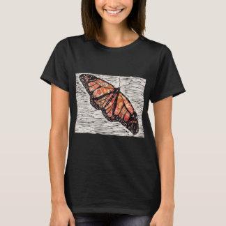 Stamp Monarch print t-shirt