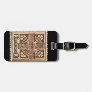 Stamp of Ireland Luggage Tag