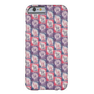 Stamp of Liberty Collage Barely There iPhone 6 Case