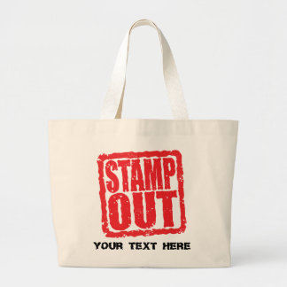 Stamp Out Canvas Bag