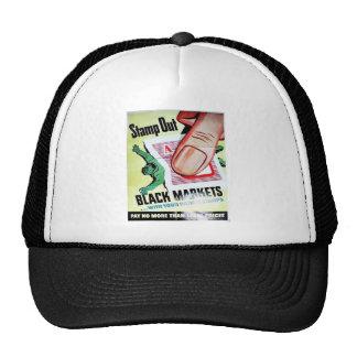 Stamp Out Black Markets Hat