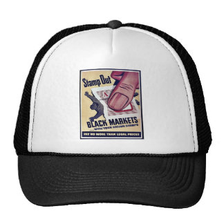 Stamp Out Black Markets With Your Ration Stamps Mesh Hats