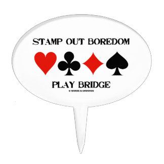 Stamp Out Boredom Play Bridge Four Card Suits